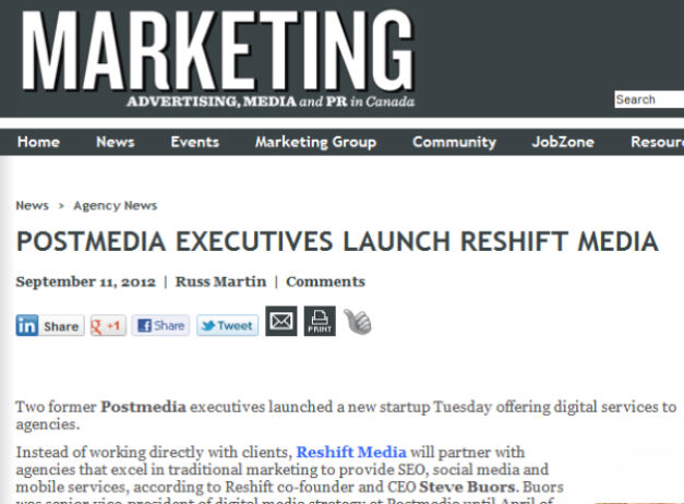 Reshift Media in the News