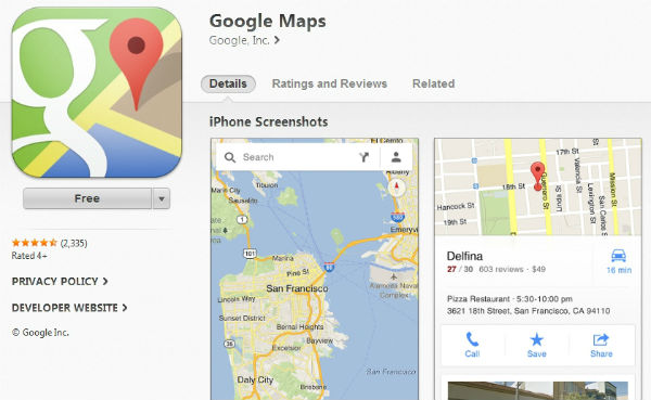 Beyond Google Maps: The Best Utility Apps | Reshift Media Inc. on google map art, google docs app, google app icon, google world app, google earth, gasbuddy app, google navigation app, traductor google app, weather app, google texting app, google circles app, google mapquest, google search app, craigslist app, evernote app, google calendar, google map turkey, google map from to, google books app,