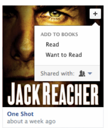 Facebook Timeline books