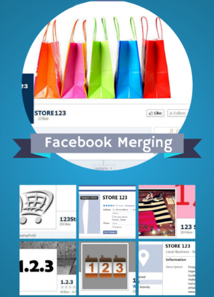 Merge Multiple Facebook Pages into One