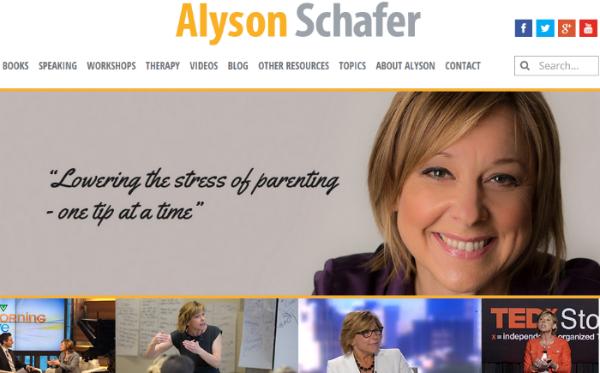 Alyson Schafer parenting expert