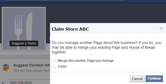 how to get access to edit a facebook page