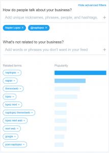 Twitter dashboard2