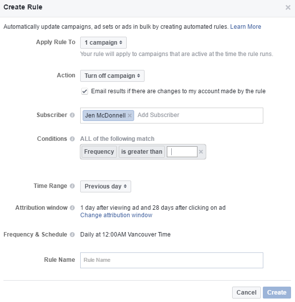facebook automated rules 2