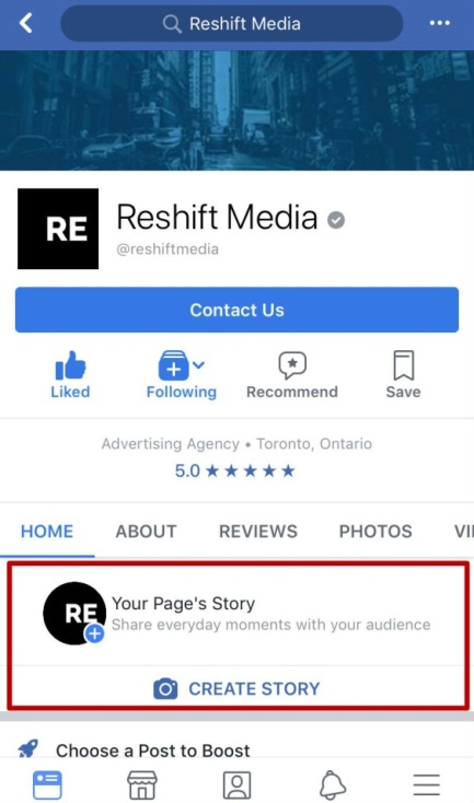 d04e9e5105e657 8 Easy Steps To Create a Facebook Story on Your Business Page