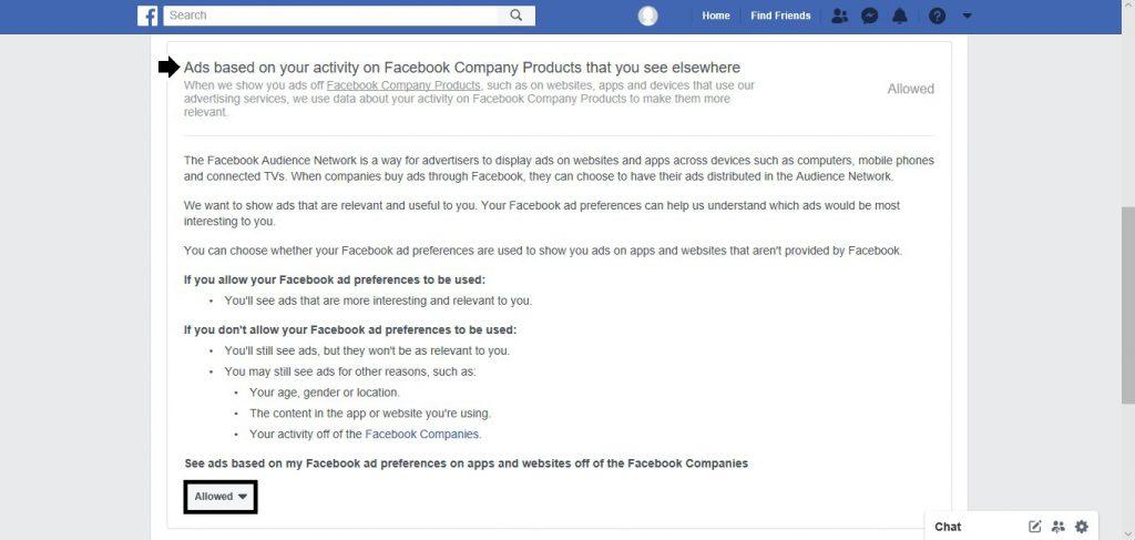 Fine-tuning, Facebook. ads