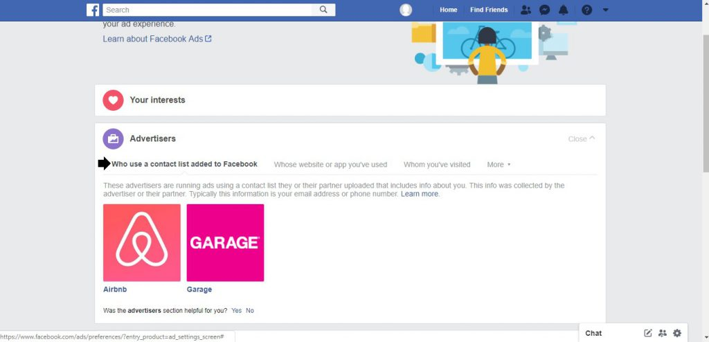 Facebook,, ad, preferences, fine-tuning, advertising