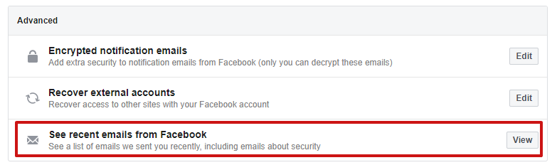 facebook scam emails